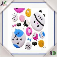 Hot Sell Beautiful Cartoon Panda Puffy Stickers for Kids