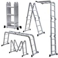 Buy cheap Aluminum Telescopic Multi Purpose Foldable Step Ladder Extendable Heavy Duty Ladder from wholesalers