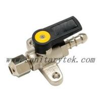 China Code: V25-301 Mini gas ball valve foot mounted on sale