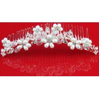 Best Fresh Water Pearl Women Wedding Bridal Hair Comb Hairpins Jewelry Accessories Rhinestone Crystal wholesale