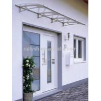 China Fashionable Rain Used Awnings With Clear Acrylic Sheet on sale