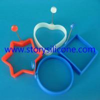 Silicone fried eggs model