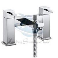 China T9701 Deck-Mounted Bath Shower Mixer with shower kit and wall bracket/ Brass Bath Mixer Tap on sale