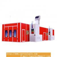 China Super Large For Automobile Used Paint Spray Booths For Sale Dust Free Furniture Spray Booth on sale