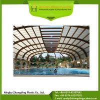 China Finished Products 3mm 6mm Polycarbonate Sheet Material for Roofing on sale