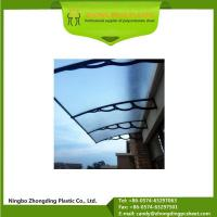 Best 3mm Solid Polycarbonate Sheet Awning and Accessories wholesale