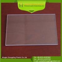 China 3mm Unbreakable High Impact Clear Polycarbonate Solid Sheet on sale
