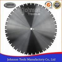 Buy cheap 600-1600mm Laser Welded Wall Saw Blades for Cutting Concrete Wall from wholesalers