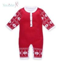 Best Romper Baby Sweater Knitting Pattern Baby Christmas Outfits wholesale