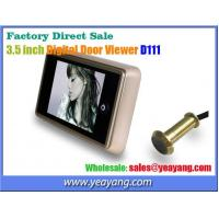 China Factory Direct Sale - 3.5 inch Digital Door Viewer D111 Best Selling with Nice Appearance on sale
