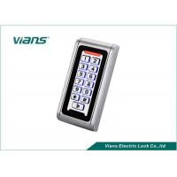 Best Waterproof Standalone Access Control Keypad With Light 5-15CM Reading RFID EM Card wholesale