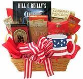 Best All American Gift Basket with Book and Snacks wholesale