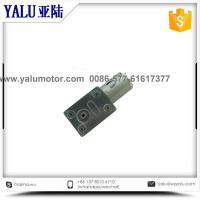 China 370 sqaure reduction gear box dc motor on sale