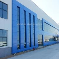 Best Pre Engineered Steel Frame Construction Workshop Design Commercial Steel Structure Buildings wholesale