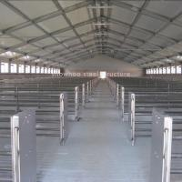Best Prefab Commercial Pig Farming Housing Structures Barns Plans Designs Steel Farm Sheds wholesale