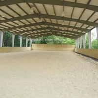 Design Steel Structure Prefab Barns Horse Stables Plans for Sale