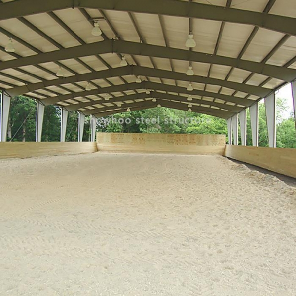 Cheap Design Steel Structure Prefab Barns Horse Stables Plans for Sale for sale