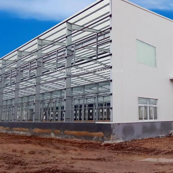 Cheap Prefab Industrial Steel Structure Warehouse Buildings Design for sale