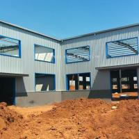 Buy cheap Prefab Light Steel Frame Structure Industrial Sheds Design Metal Warehouse Buildings from wholesalers