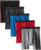Cheap Hanes Men's Sports-Inspired Boxer-Brief (Pack of Five) (Color and print may vary) for sale