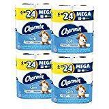 China Charmin Ultra Soft Mega Roll Toilet Paper, 24 Count on sale