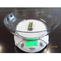Best White Color Home Electronic Scale With 2 AAA Batteries Power Supply wholesale
