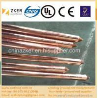 China industrial used copper clad ground rod on sale