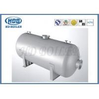 China High Pressure Steam Drum In Boiler Power Station , Hot Water Boiler Drum on sale