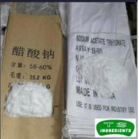 China Food preservatives Sodium Acetate Anhydrous/Trihydrate with good price on sale