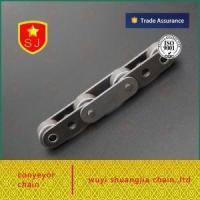 China Double Pitch Roller Chain C2042 Large Rollers with Attachments on sale