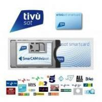 China CAM's TivuSat Official Italian Digital TV CAM and Card on sale
