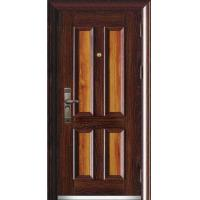 China Interior Wrought Iron Or Steel Security Entry Doors on sale