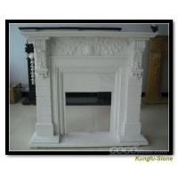 Best Bathtubs | Dreambath White Marble Fireplace wholesale