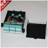 Buy cheap 10G 24F MTP to 12 X Duplex LC Fanout OM3 Fiber Cable LGX Module Cassette product
