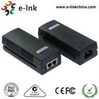 China POE Power Over Ethernet Injector , RJ45 Interface Power Over Ethernet Adapter on sale