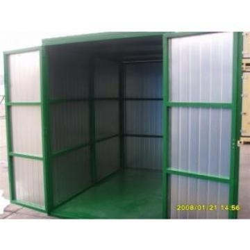 Cheap Folding Steel Storage Sheds Waterproof , Shipping Container House for sale