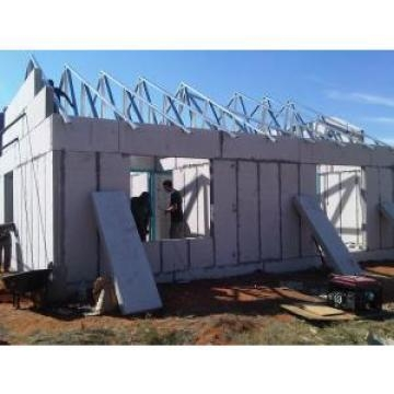 China Low Cost Concrete Prefabricated House With Cement Sandwich Panel