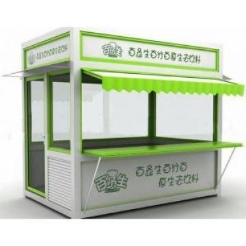China Exhibition Folding Container Kiosk Booth With Fast Installation