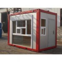 Cheap Small Relocatable Container Kiosk Portable Reusable For Showing and Exhibition for sale