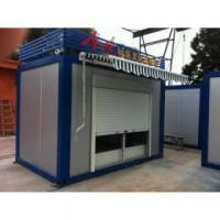 Cheap Low Cost Movable Container Kiosk , Small Movable Homes With Long Life Span for sale