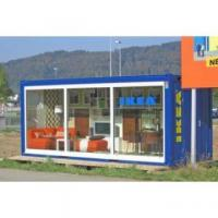 Buy cheap Galvanized Steel Container Kiosk from wholesalers