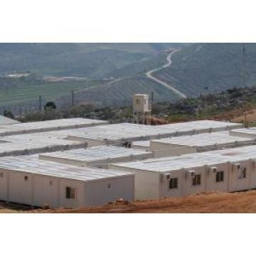 China Galvanized Steel Frame Mobile Modular Homes For Portable Hotels