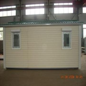 China Mobile Modular Homes With Heating Insulation Panels and Anti-rust Steel Frame