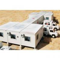 Best Flat Roof Mobile Modular Homes With Steel Structure For Dormitory wholesale