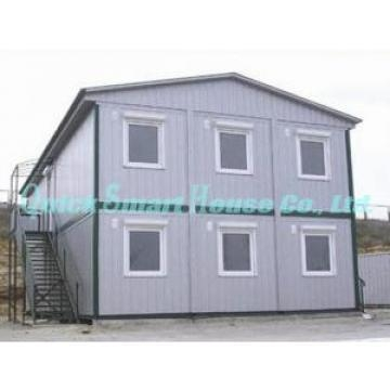 China Sandwich Panel Mobile Modular Homes , Two Storey Modular Guest House