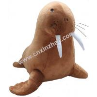 Best Walrus Plush Stuffed Soft Toys Brothers Brown Grey Colors Grovel Customized wholesale