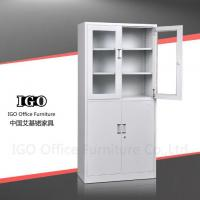 Buy cheap Steel Cupboard Steel Cupboard with Glass And Metal Doors Popular Used in Offices from wholesalers