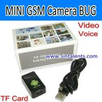 Best GF-08,GSM Camera&Tracker, Quad band, Video&Voice Recorder,TF Card,Voice Trigger wholesale