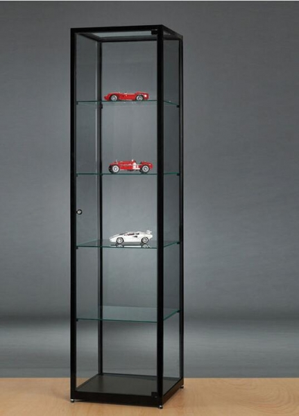 Cheap Model Car Display Case With Mirrored Back-panel for sale