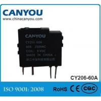 Best CY207-60A single phase magnetic latching relay wholesale